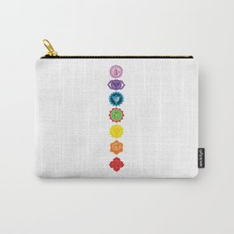Seven Chakras Carry-All Pouch