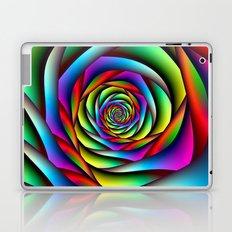 Rainbow Spiral Laptop & iPad Skin