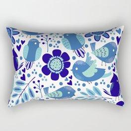 Nature with birds V2 Rectangular Pillow