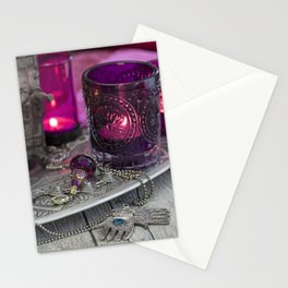 Still life with Moroccan lamps Stationery Cards