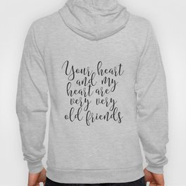 Hafiz Quote Valentines Day Decor Gift For Her Printable Quotes Best Friends Gift Love Sing Hoody