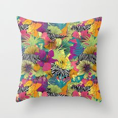 wondergarden Throw Pillow
