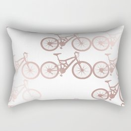 Bike Trail Rectangular Pillow