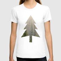 mountain T-shirts featuring Mountain Haze by Kurt Rahn