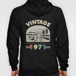 Birthday Gift Vintage 1971 Classic Hoody