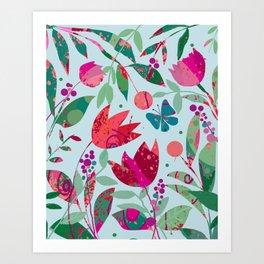 Pardon my Garden Art Print