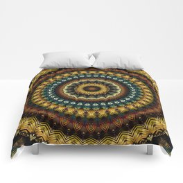 Mandala 217 Comforters
