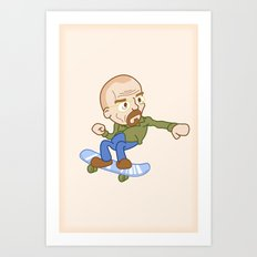 breaking badass. Art Print