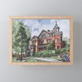 Armstrong Mansion Framed Mini Art Print