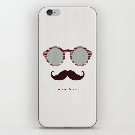 je m'en fous #2 iPhone & iPod Skin