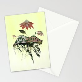 Uprooted Flowers Stationery Cards