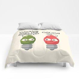 Seasonal Employment Comforters
