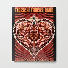 tedeschi trucks band tour 2020 dede11 Metal Print