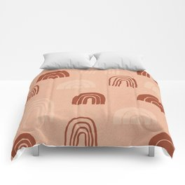 Rainbows - vintage Comforters