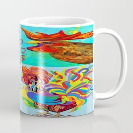 Rooster Menagerie Coffee Mug