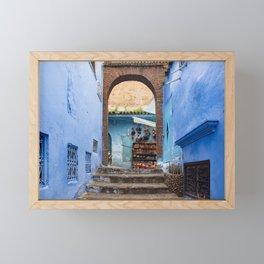 Doors - Chefchaouen II, Morocco Framed Mini Art Print