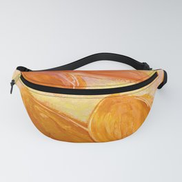 Exotic Floral Fanny Pack
