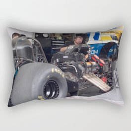The Engine Whisperer Rectangular Pillow