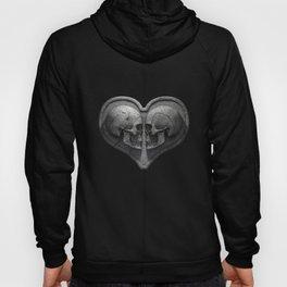 Gothic Skull Heart Hoody