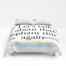 Talk Comforters
