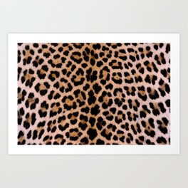 Cheetah Pattern Art Print