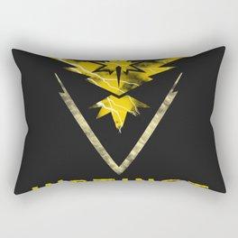 Team Instinct Electric Rectangular Pillow
