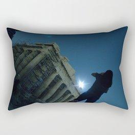 Walking Athens Rectangular Pillow