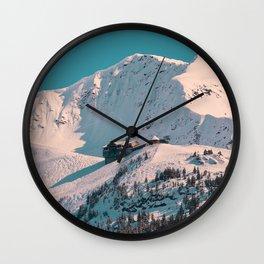 Mt. Alyeska Ski Resort - Alaska Wall Clock