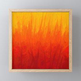 Fire and Liquid Sunshine Framed Mini Art Print