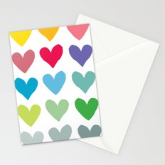 Heart pattern art  Stationery Cards