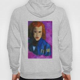 Dana Scully FBI Purple Hoody