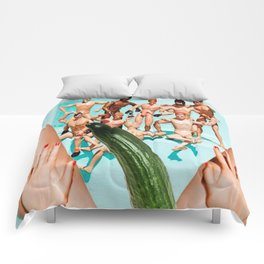 cucumbers know Comforters