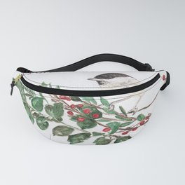 Holiday Chickadee Fanny Pack
