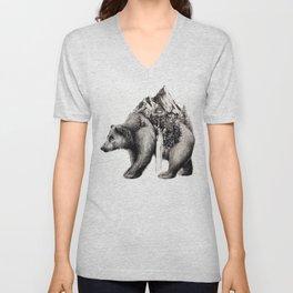 Onward Bear Unisex V-Neck