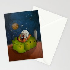 Welcome to mars! Stationery Cards