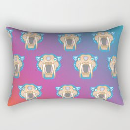 Meowgrrr Pride for CheshireSol on TwitchTV Rectangular Pillow