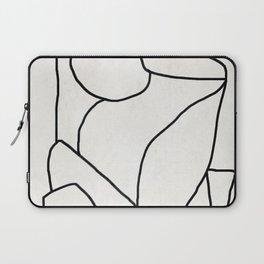 Abstract line art 2 Laptop Sleeve