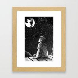 Star Gazing Framed Art Print
