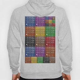 shipping container color box Hoody