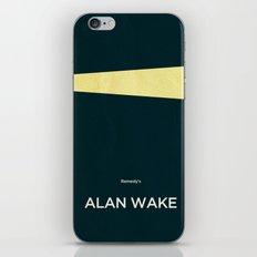 Remedy's Alan Wake iPhone & iPod Skin