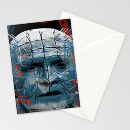 """Pinhead Hellraiser """"Do I Look Like Someone Who Cares What God Thinks?"""" Stationery Cards"""
