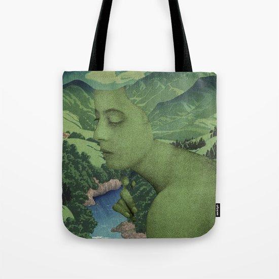 GREEN JEAN Tote Bag