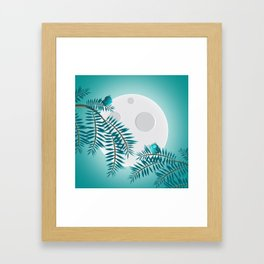 moonlog Framed Art Print