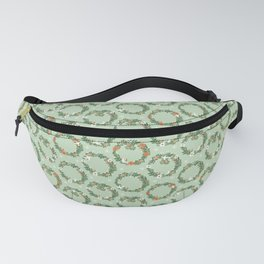 Christmas Wreath Fanny Pack