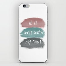 It Is Well iPhone & iPod Skin