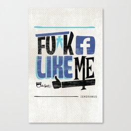 Like Me Canvas Print