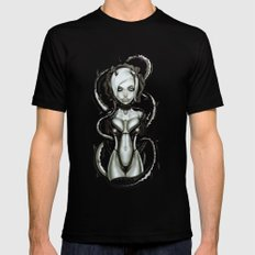 The Flower of Carnage Mens Fitted Tee MEDIUM Black