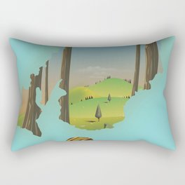Trossachs Scotland Rectangular Pillow