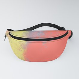 Other Cheek - Wide Nikko Rull Abstract Digital Painting Fanny Pack