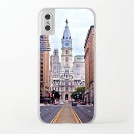 Broad Street, Philadelphia Clear iPhone Case